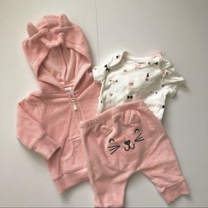 Carter's 3 Piece Girl Outfit